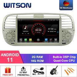 Witson Quad-Core Android 11 Auto Multimedia Player für FIAT 500 Fahrzeugradio