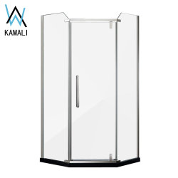 Hot Sale novo Design de alta qualidade Foshan preço de fábrica Diamond Shape chuveiro Cabin para Casa de Banho, Duche completo