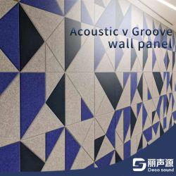 Polyester-Faser-akustische Dekoration-Wand mit Ausschnitt-Entwurf