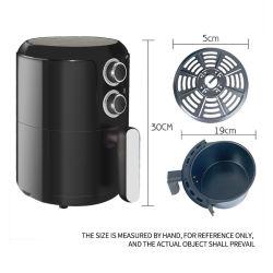 CE CB LFGB 2.8L buena calidad del aire freidora