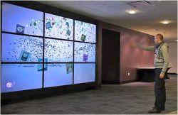 Processore video a parete LCD per cornice ultra stretta da 55 pollici Parete video LCD