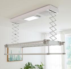 Het automatische Draadloze Opgezette Plafond van de Controle kleedt het Drogende Rek van de Hitte