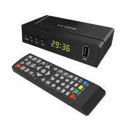 유럽 시장 Full HD RJ45 LAN 포트 DVB-T2 H.265 TV 수신기