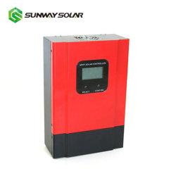 12V 24V солнечного ветра гибридный ЖК-дисплей контроллера заряда с MPPT 50A