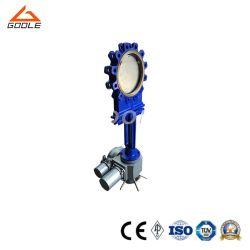 150lb Rising Stem Electric Wafer 스테인리스 스틸 칼날 게이트 밸브 (GAP943H)