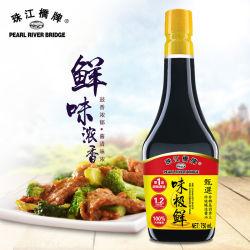 진주 강 브리지 (주요한 간장 상표) 우수한 맛있은 간장 750ml 건강한 자연적인 식품 첨가제