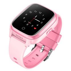 Últimas Smart Kids reloj GPS 4G tarjeta SIM de Pulsera Reloj Pulsera impermeable a los niños llamada de teléfono inteligente de llamadas de vídeo
