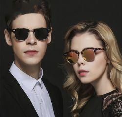 남성과 여성용 편광 선글라스 반추진형 프레임 선 100% UV 차단