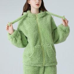 Dames Winter Polar Fleece Pajama Set