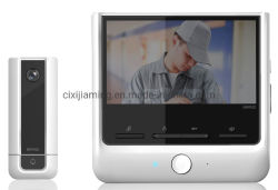 """Jm0136A-7""""Ecran TFT LCD numérique vidéo système intercom de téléphone de la porte avec la caméra"""