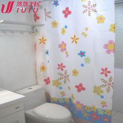 Plástico impermeable EVA cortina de baño/ducha