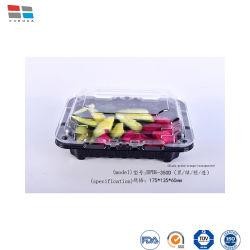 플라스틱 음식 용기 과일 클램셸 포장 도난 방지 상자
