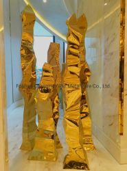 عمليّة بيع حارّ [هندمد] [ستينلسّ ستيل] عمل فنّيّ من ذهبيّة صناعة يدويّة فراشة/إبحار/سيارة/[إيفّل توور]