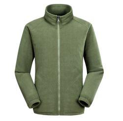 Kundenspezifischer Kontrast-Farben-Mann-Winter Sherpa/Flanell/polare Vlies-Umhüllung mit Ihrer eigenen Firmenzeichen-Stickerei