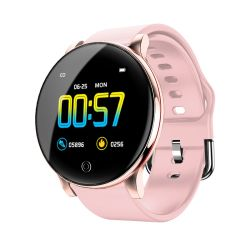 심박수 체온 모니터 가죽 벨트 금속 쉘 지능적인 스포츠 시계를 가진 Zl01 지능적인 팔찌