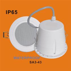 4インチのABS IP65は防水するPAシステム(SA3-43)のための天井のスピーカーを