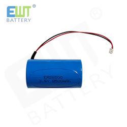 Grootte Er26500 van de Batterij C van het Lithium van Ewt 3.6V 9000mAh de Primaire met Draden