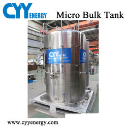 2м3 при низкой температуре малых бак для хранения для жидкого кислорода/Lin/Lar/СПГ