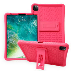 Schützende Tablette-Zubehör imprägniern Tablette-Kasten-Silikon-Tablette-Deckel mit Halter für iPad Samsung