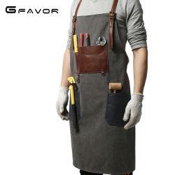 Handgemachtes Arbeitssegeltuch-Herrenfriseur-Kap-Schutzblech für Herrenfriseur-Kaffeestube