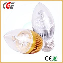 Светодиодная лампа светодиодная свеча лампа 3 Вт/5W/7W E14 Ce/RoHS светодиодные лампы в форме свечи на заводе светодиодные лампы энергосберегающая лампа