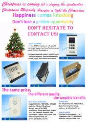 El control de seguridad del sistema de intercomunicación de timbre para Excelltel Doorphone PBX.
