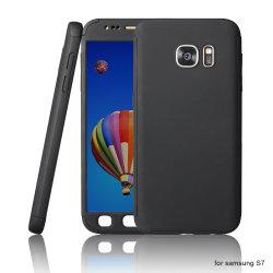 De mobiele Voorzijde van Toebehoren + de Achter Volledige Dekking van PC voor Se 5 6 7 van iPhone voor het Geval van de Telefoon van Samsung S7 S7e 360 met de Aangemaakte Beschermer van het Scherm van het Glas