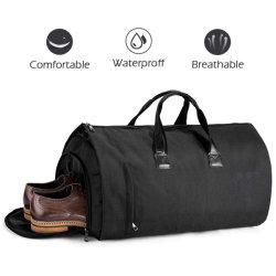 Duffle Bag Sac de vêtements portent sur le sac de vol de sac de week-end pour salle de Gym Sports de voyage (y compris les chaussures et des tailleurs
