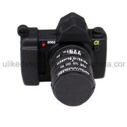 محرك أقراص USB محمول على شكل كاميرا /محرك أقراص USB مطاطي مخصص من PVC/USB 2.0 /USB 3.0