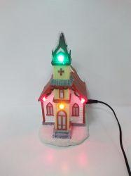 2017년 수진 크리스마스 LED 하우스로 장식했습니다