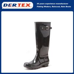 Calhas de chuva à prova de altas botas para Mulheres