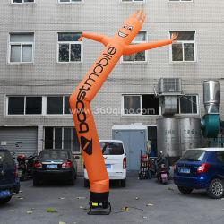 Bunte Single Leg Aufblasbare Lufttänzer für Werbung