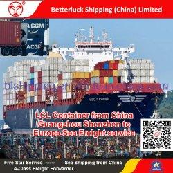 Container LCL van China/Guangzhou/Shenzhen aan de Overzeese van Marseille/van Frankrijk/van Europa dienst van de Vracht