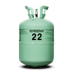 13.6kg Vérin fréon de haute pureté du gaz réfrigérant R22