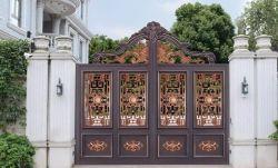 알루미늄 단철 강철 말뚝 장식적인 금속 정원 담 문