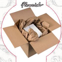 La impresión personalizada de doble pared fuerte 5 capas de papel cartón ondulado embalaje E-Commerce Transporte Logística/// caja de cartón de almacenamiento móvil