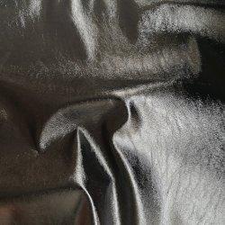 0,6 mm de espesor de prendas de vestir de tejido de cuero de PU, poli respaldo.