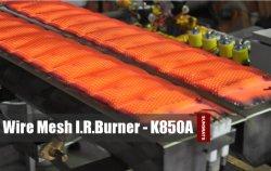 سخان شبكي سلكي معدني يعمل بالأشعة تحت الحمراء للغاز الأسفلت