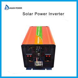 Convertidor DC AC fuera de la red onda sinusoidal pura de 3000 vatios de 3kw 6000W inversor inversor de energía solar 12V 24V 110V 220V 240V