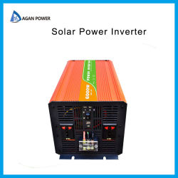 Gleichstrom-Wechselstrom-Konverter weg Inverter-Sonnenenergie-Inverter 12V 24V 110V 220V 240V der Rasterfeld-vom reinen Sinus-Wellen-3000 des Watt-3kw 6000W