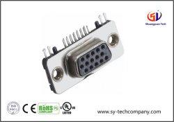 Connecteur D-sub HD/R avec Slim 15p femelles