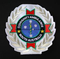 Custom вышитый патч, 3D вышивкой логотипа