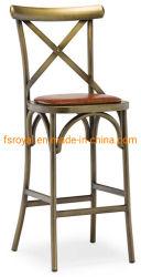 Cafe Dining Restaurant Indoor modernen Lederhocker Barstuhl und Tabellen