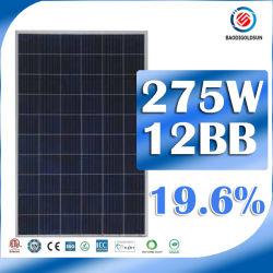 太陽エネルギーシステムのための275W太陽エネルギーの版