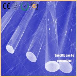 Non-Non scolorendo quarzo Rohi di vetro (materiale di elevata purezza del Rod del quarzo fuso della radura di trasmissione del Rod del quarzo nero di memoria buon di GE) per Semicondutor