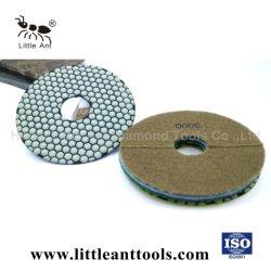 """7""""/180mm abrasif à sec d'outils Tampon à polir la résine de diamant pour disque de meulage Marble & Granite"""