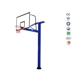 Baratos en tierra SMC Tablero fuera de cochera patio azul puesto baloncesto