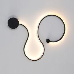Zeitgenössisches LED-Wand-Licht-nordische Wand-Lampe für Innendekoration