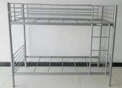 Derribar el doble de literas y cama de metal lleno litera con dos camas individuales