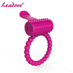 1PCS/lote Mini Anel peniano, Anel vibratório, Torneira de vibração de Longa Duração Ring Little Devil brinquedo sexual para casais Ys0163